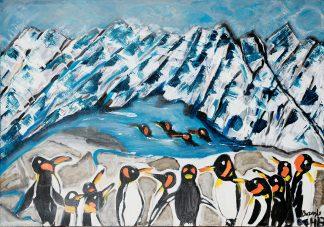 פינגווינים בהרי שלג 3206