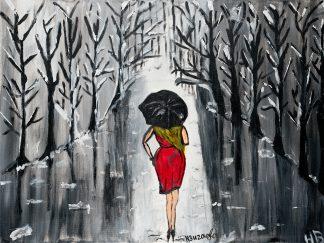 3044 אשה ביער