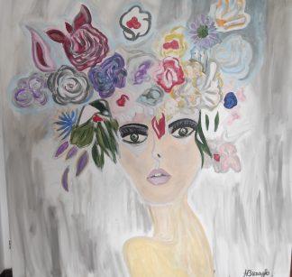 3049 פרחים על הראש