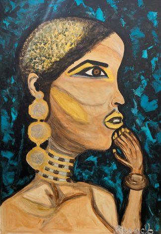 3384 אשה אפריקאית