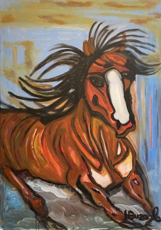 3394 סוס חום